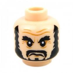 Lego Accessoires Minifig Tête masculine, chair, 45 (La Petite Brique)