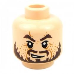 Lego Accessoires Minifig Tête masculine, chair, 46 (La Petite Brique)