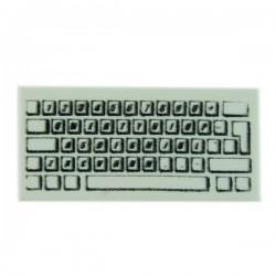 Computer Keyboard - Tile 1x2 (White)