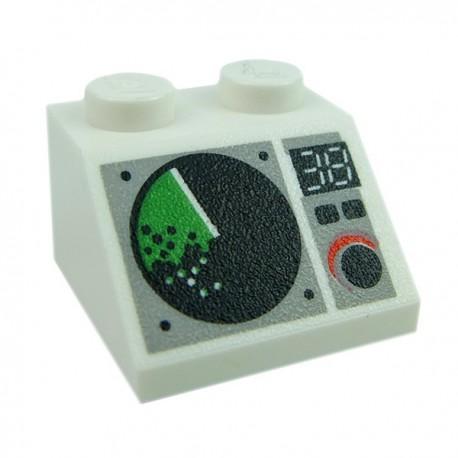 Lego Accessoires Minifig Contrôle Radar v2 (La Petite Brique)