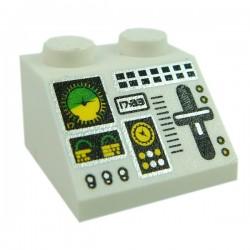 Lego Accessoires Minifig Aircraft Multiple Flight Controls (La Petite Brique)