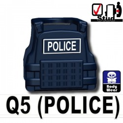 Tactical Vest Q5 Police (Dark Blue)
