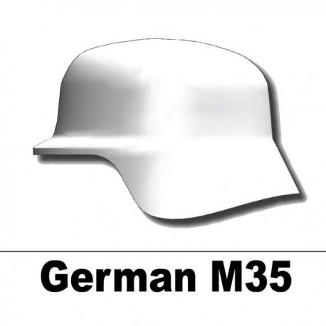 Helmet German M35 (White)