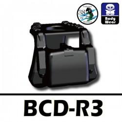 Lego Accessoires Minifig Si-Dan Toys BCD-R3 (noir) (La Petite Brique)