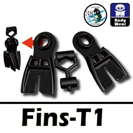 Lego Accessoires Minifig Si-Dan Toys Palmes T1 (noir) (La Petite Brique)