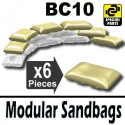 6 Modular Sandbags BC10 (Tan)