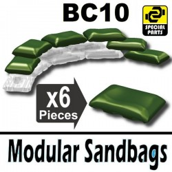 6 Modular Sandbags BC10 (Military Green)