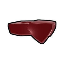 Dark Red One-Sided Pauldron