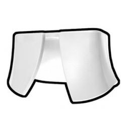 Lego Accessoires Minifig Custom AREALIGHT White Waist Cape / Kama (La Petite Brique)