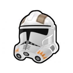 Lego Accessoires Minifig Custom AREALIGHT White Cody Trooper Helmet (La Petite Brique)