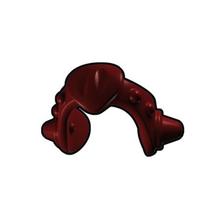 Lego Accessoires Minifig Custom AREALIGHT Médaillon Dark Red (La Petite Brique)