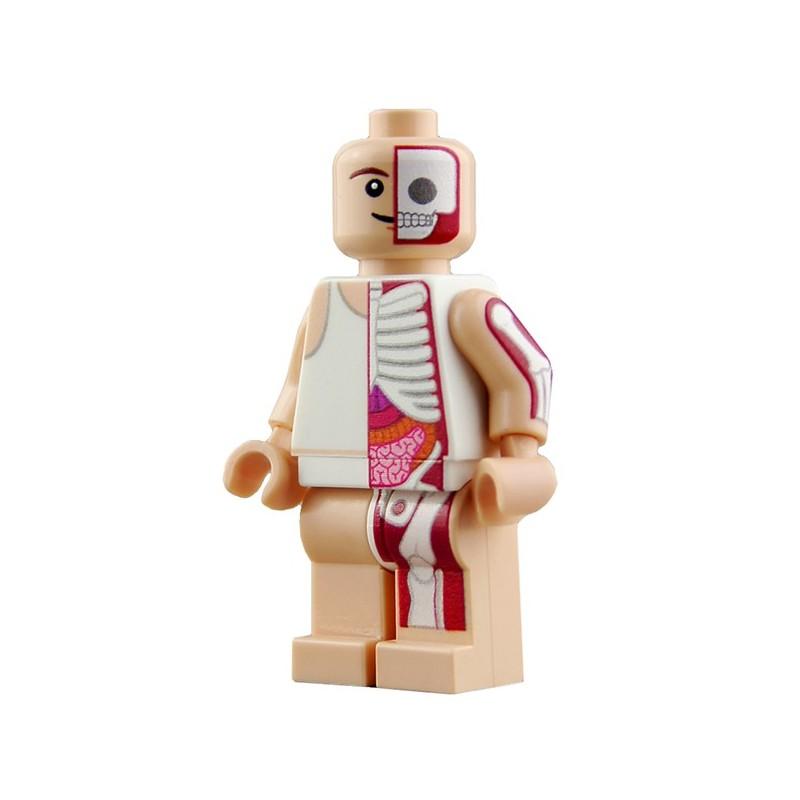 Lego custom BRICKS Custom Minifig Jason Freeny (La Petite Brique)