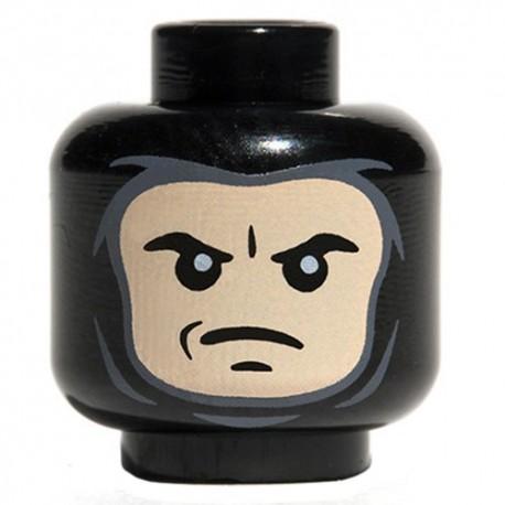 Lego Accessoires Minifig Custom CITIZEN BRICK Winter Balaclava (Black) (La Petite Brique)