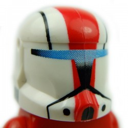 Lego Accessoires Minifig Custom CLONE ARMY CUSTOMS Commando Sarge Helmet (La Petite Brique)