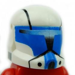 Lego Accessoires Minifig Custom CLONE ARMY CUSTOMS Commando Hope Blue Helmet (La Petite Brique)
