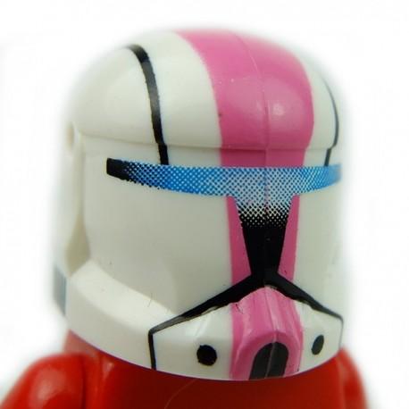 Lego Accessoires Minifig Custom CLONE ARMY CUSTOMS Commando Pink Helmet (La Petite Brique)