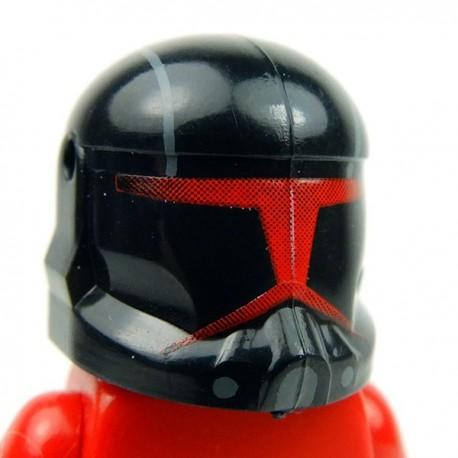 Lego Accessoires Minifig Custom CLONE ARMY CUSTOMS Commando Shadow Red Helmet (La Petite Brique)