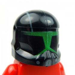 Lego Accessoires Minifig Custom CLONE ARMY CUSTOMS Commando Shadow Green Helmet (La Petite Brique)