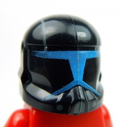 Lego Accessoires Minifig Custom CLONE ARMY CUSTOMS Commando Shadow Helmet (La Petite Brique)