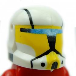 Lego Accessoires Minifig Custom CLONE ARMY CUSTOMS Commando Hope Yellow Helmet (La Petite Brique)