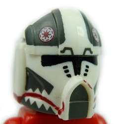 Lego Accessoires Minifig Custom CLONE ARMY CUSTOMS Pilot Matchstick Helmet (La Petite Brique)