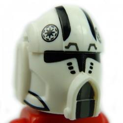 Lego Accessoires Minifig Custom CLONE ARMY CUSTOMS Pilot Broadside Helmet (La Petite Brique)