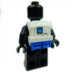 Lego Accessoires Minifig Custom CLONE ARMY CUSTOMS Commando Pack Hope Blue (La Petite Brique)