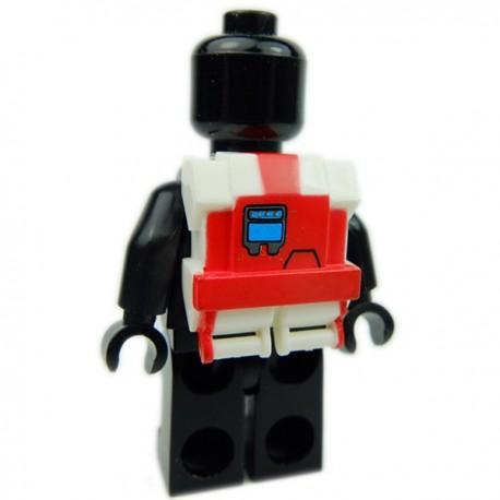Lego Accessoires Minifig Custom CLONE ARMY CUSTOMS Commando Pack Darman (La Petite Brique)
