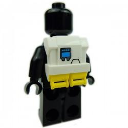 Lego Accessoires Minifig Custom CLONE ARMY CUSTOMS Commando Pack Hope Yellow (La Petite Brique)