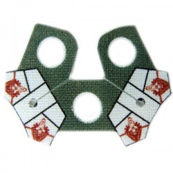 Shoulder Cloth Arc Pauldron Security White