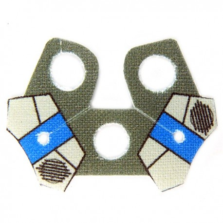 Lego Accessoires Minifig Custom CLONE ARMY CUSTOMS Shoulder Cloth Arc Pauldron Redeye (La Petite Brique)