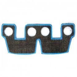 Lego Accessoires Minifig Custom CLONE ARMY CUSTOMS Waistcape Blue Trim (La Petite Brique)