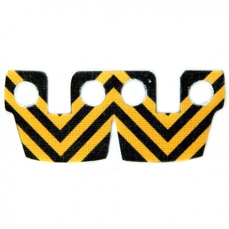 Lego Accessoires Minifig Custom CLONE ARMY CUSTOMS Waistcape Orange Black Stripes (La Petite Brique)