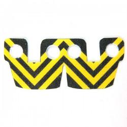 Lego Accessoires Minifig Custom CLONE ARMY CUSTOMS Waistcape Yellow Black Stripes (La Petite Brique)