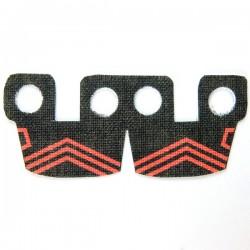 Lego Accessoires Minifig Custom CLONE ARMY CUSTOMS Waistcape Red Pattern (La Petite Brique)