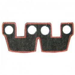 Lego Accessoires Minifig Custom CLONE ARMY CUSTOMS Waistcape Dark Red Trim (La Petite Brique)