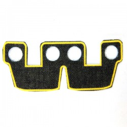 Waistcape Yellow Trim