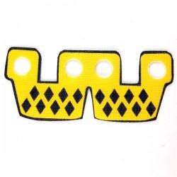 Lego Accessoires Minifig Custom CLONE ARMY CUSTOMS Waistcape Yellow with Diamonds (La Petite Brique)