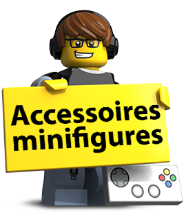 Accessoires minifigures minifig lego