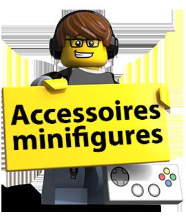 Accessoires minifigures minifig lego
