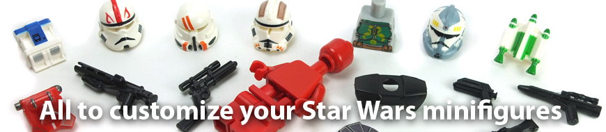 accessories minifigure lego star wars