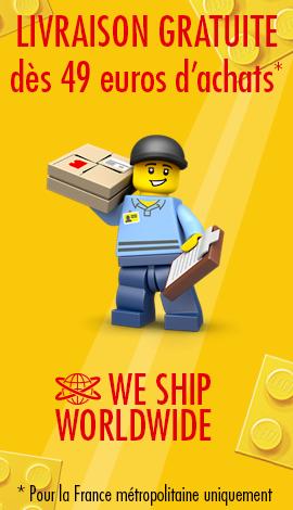 livraison minifigures lego