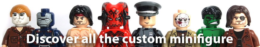 minifigure custom lego