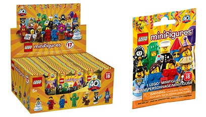 LEGO Series 18 Minifigures on sale