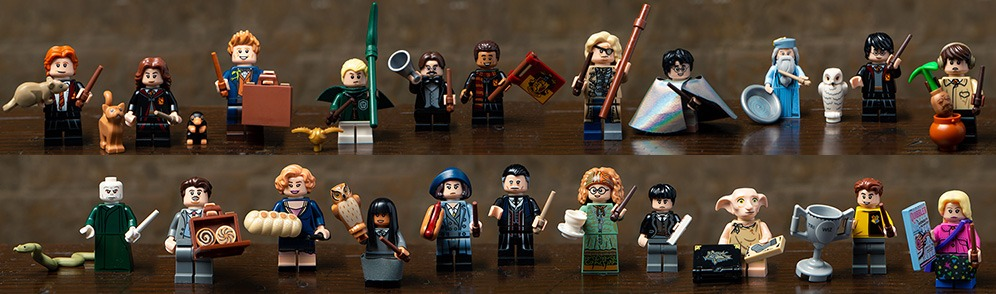 The new series of minifigures finally unveiled !