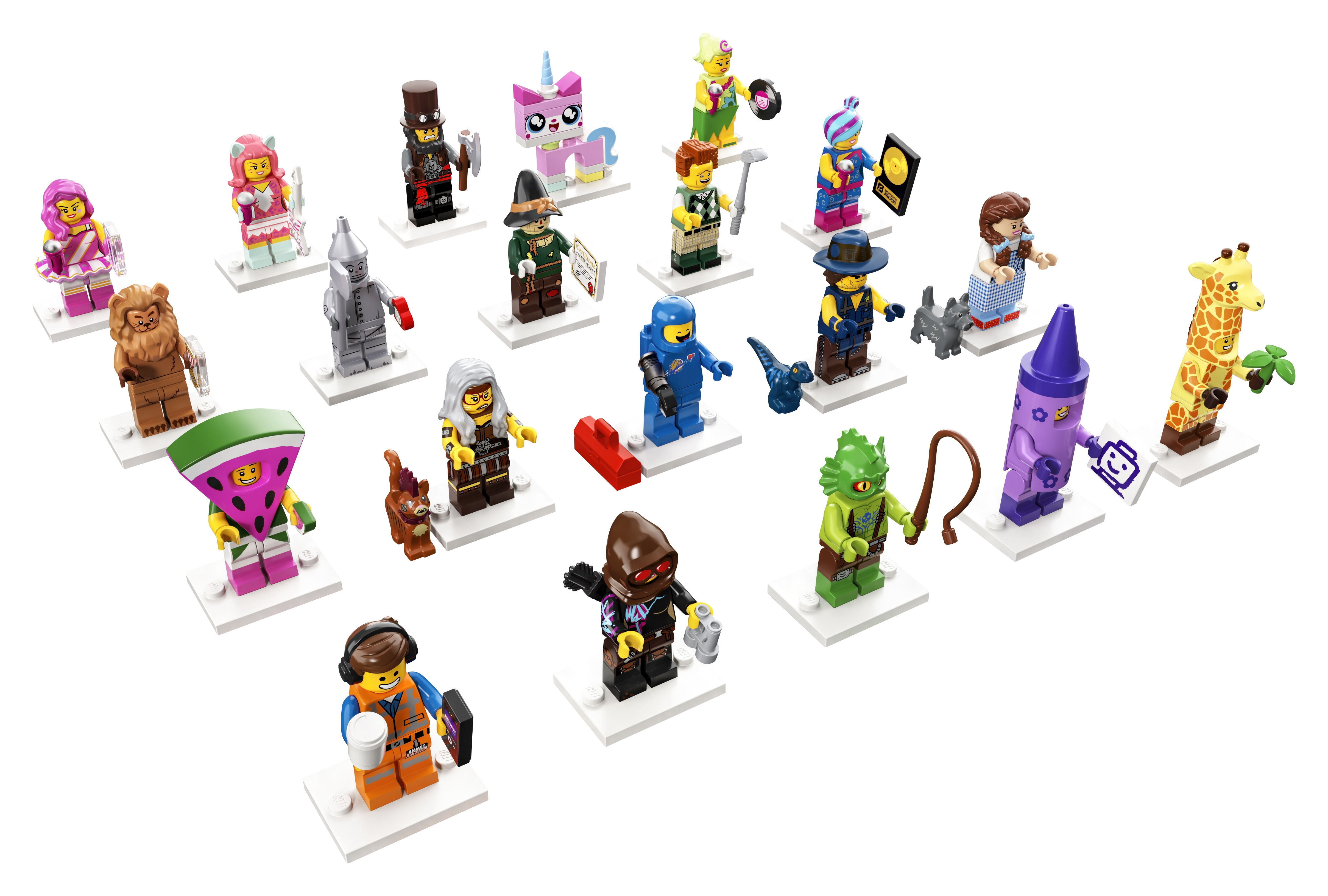 For this new Year, we unveil the new Minifigures Series!