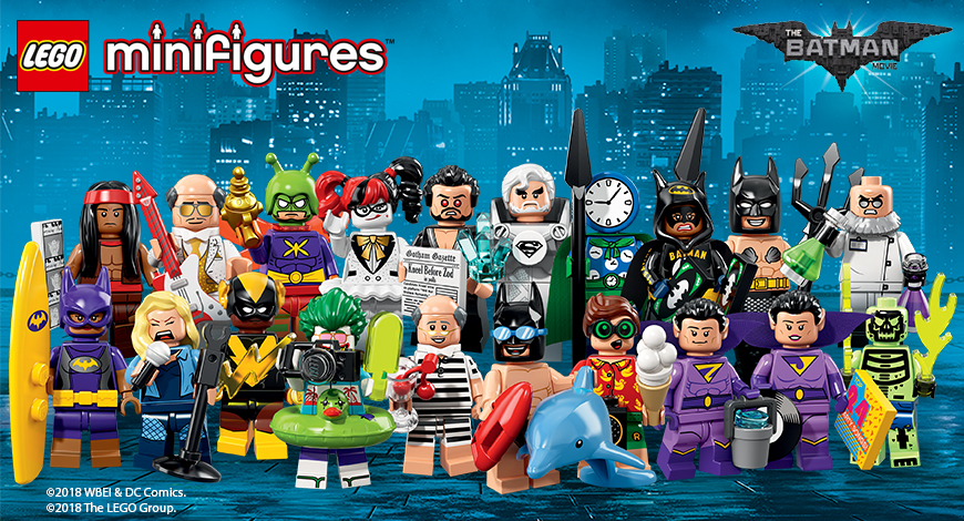 lego minifigures serie batman movie